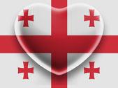グルジアの旗 — ストック写真