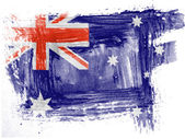 The Australian flag — Stock Photo