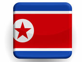 The North Korea flag — Photo