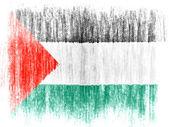 The Palestinian flag — Foto de Stock