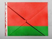 Le drapeau biélorusse — Photo