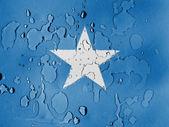 Flaga somalii — Zdjęcie stockowe