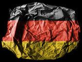 The German flag — Stock Photo