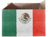 The Mexican flag — Foto de Stock