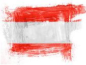 奥地利国旗 — 图库照片