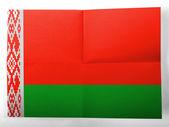 белорусский флаг — Стоковое фото