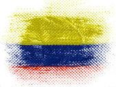 Die kolumbianische flagge — Stockfoto
