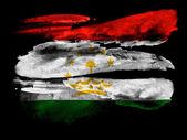 The Tajik flag — Foto de Stock