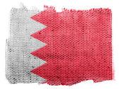 Bahrain. Bahraini flag — Stock Photo