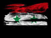 The Syria flag — Foto de Stock