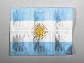 The Argentine flag — Stock Photo