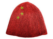 The Chinese flag — Foto de Stock