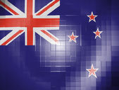 The New Zealand flag — Foto de Stock