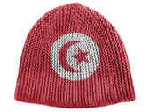The Tunis flag — Foto Stock