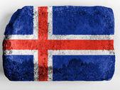 The Icelandic flag — Stockfoto