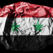 The Syria flag - Stock Photo