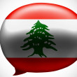 Lebanese flag — Stock Photo #23443700