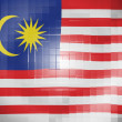 Stock Photo: Malaysiflag