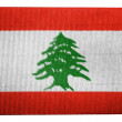 Lebanese flag — Stock Photo #23444130