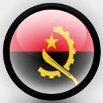 Постер, плакат: Angola Angolan flag
