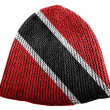 Trinidad and Tobago flag  painted on cap — Foto Stock
