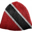 Trinidad and Tobago flag  painted on cap — ストック写真