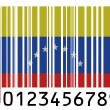The Venezuelan flag - Stock Photo