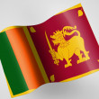 Sri Lankflag — Stock Photo #23445522