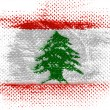 Lebanese flag — Stock Photo #23446950