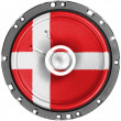Danish flag — Stock Photo #23448846