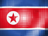 The North Korea flag — Stock fotografie