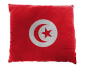 The Tunis flag — Stock Photo