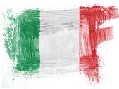 The Italian flag — Foto de Stock
