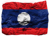 The Laotian flag — Photo
