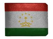 The Tajik flag — Stock Photo