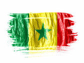 The Senegal flag — Foto de Stock