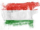 The Hungarian flag — Photo