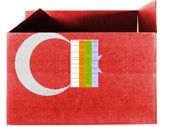 The Turkish flag — Foto Stock