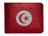The Tunis flag — Stock fotografie