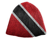 Trinidad and Tobago flag painted on cap — Stock Photo