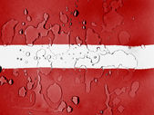The Latvian flag — Stock Photo