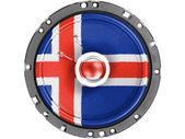 冰岛标志 — 图库照片