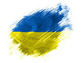 The Ukrainian flag — Stock Photo