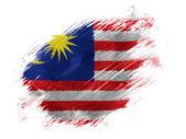 The Malaysia flag — Stock Photo