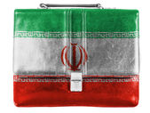 The Iranian flag — Foto Stock