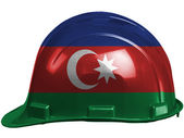 The Azerbaijani flag — Foto Stock