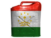 De tadzjiekse vlag — Stockfoto
