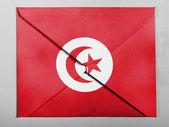 The Tunis flag — Stock Photo
