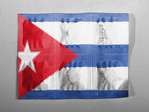 The Cuban flag — Stock fotografie