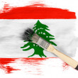 Lebanese flag — Stock Photo #23450766
